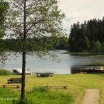 """Sodyba """"Prie Beržoro ežero"""". Vaizdas į ežerą."""