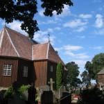 Beržoro bažnyčia ir varpinė. A. Kuprelytės nuotrauka