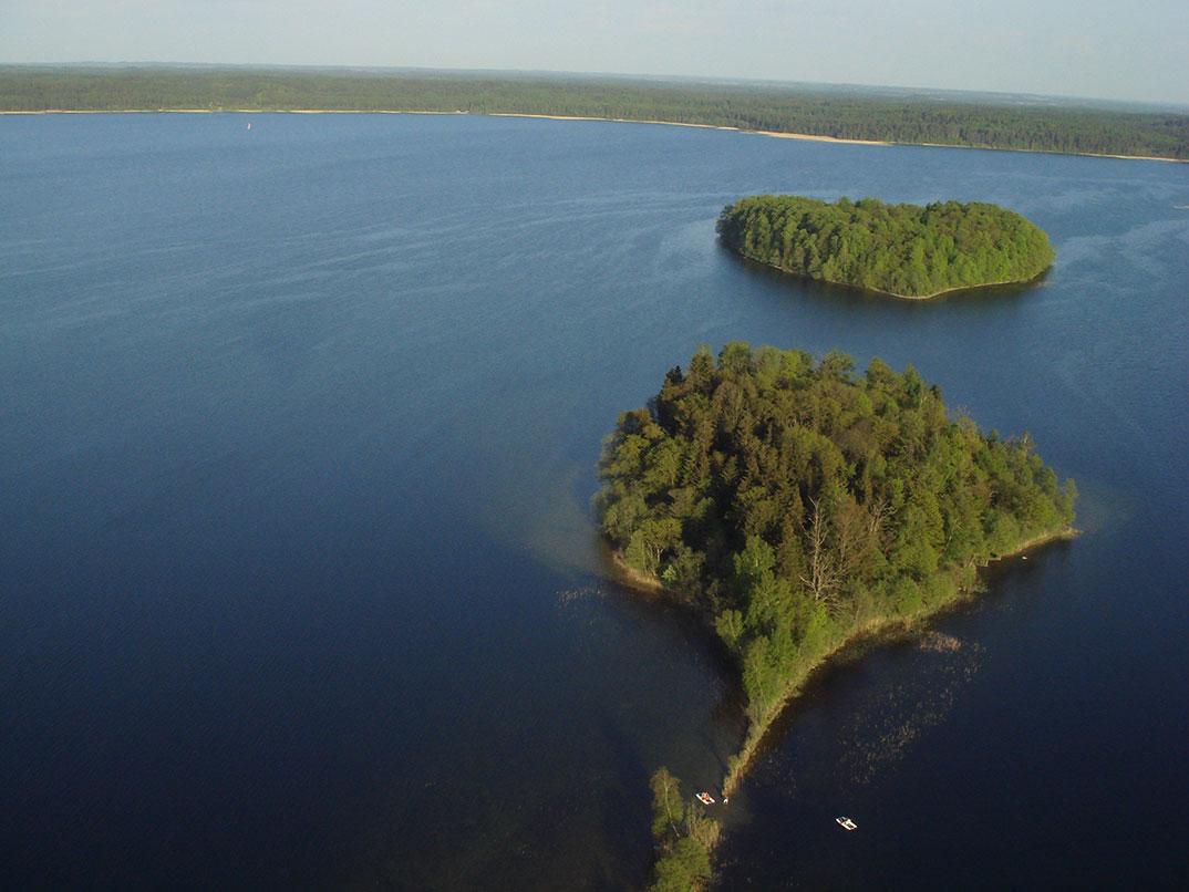 Plateliu ezero salos